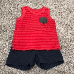 Cat and Jack Tank Top and Shorts